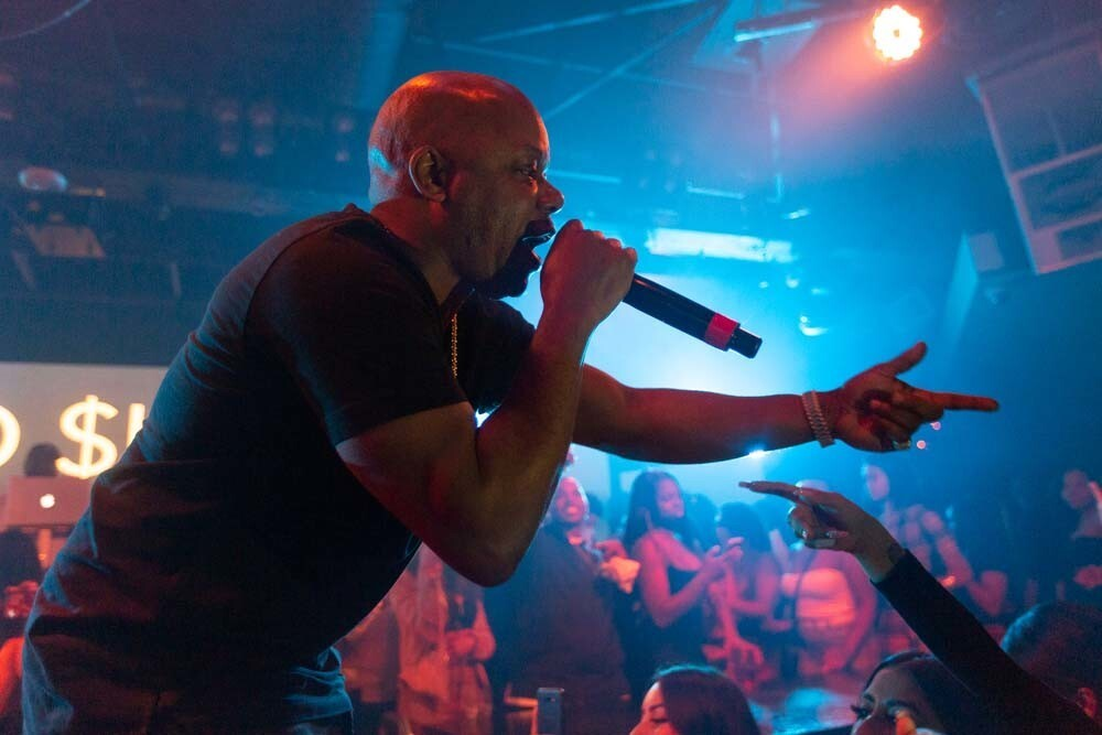 San Diego was lucky enough to get a performance from rapper Too $hort at Fluxx nightclub on Wednesday, Nov. 21, 2018.