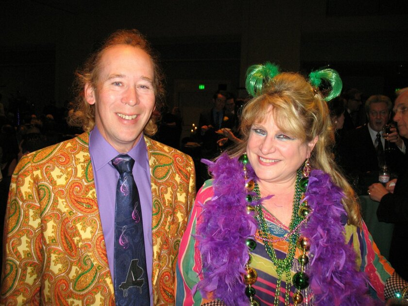 Donna Nichols and Bradley Leighton at the 10th Annual Coeur de Cuisine, held Feb. 24 at the California Center for the Arts, Escondido. CREDIT: Cathy Hendrie