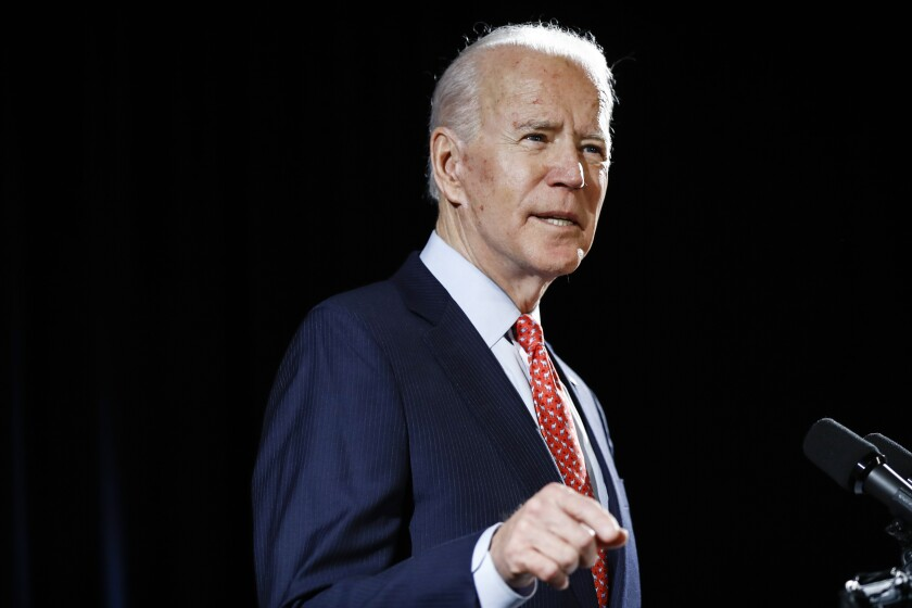 Letters to the Editor: Trump's updates are ridiculous, but they make you wonder: Where is Joe Biden?