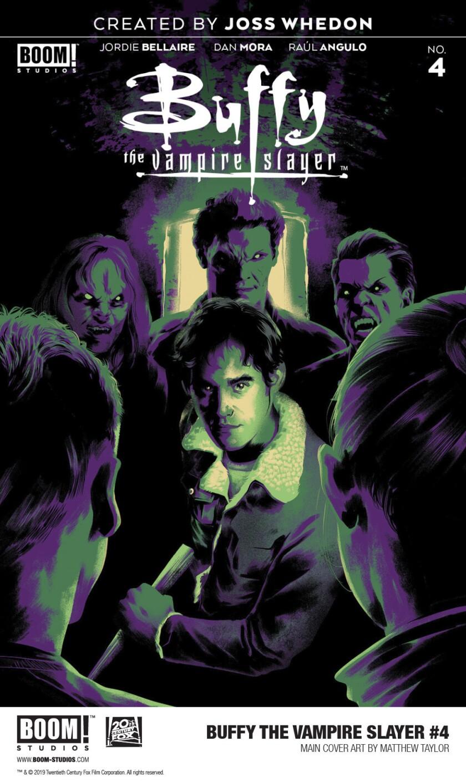 'Buffy the Vampire Slayer' cover