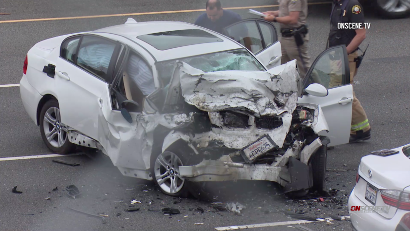 Mercedes was speeding over 100 mph in deadly wrong-way crash in O C