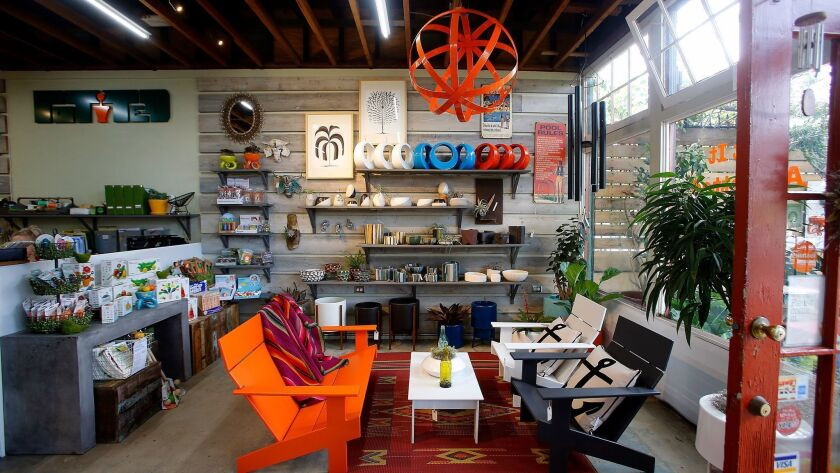The home and garden store Potted in Atwater Village. Kirk McKoy / Los Angeles Times