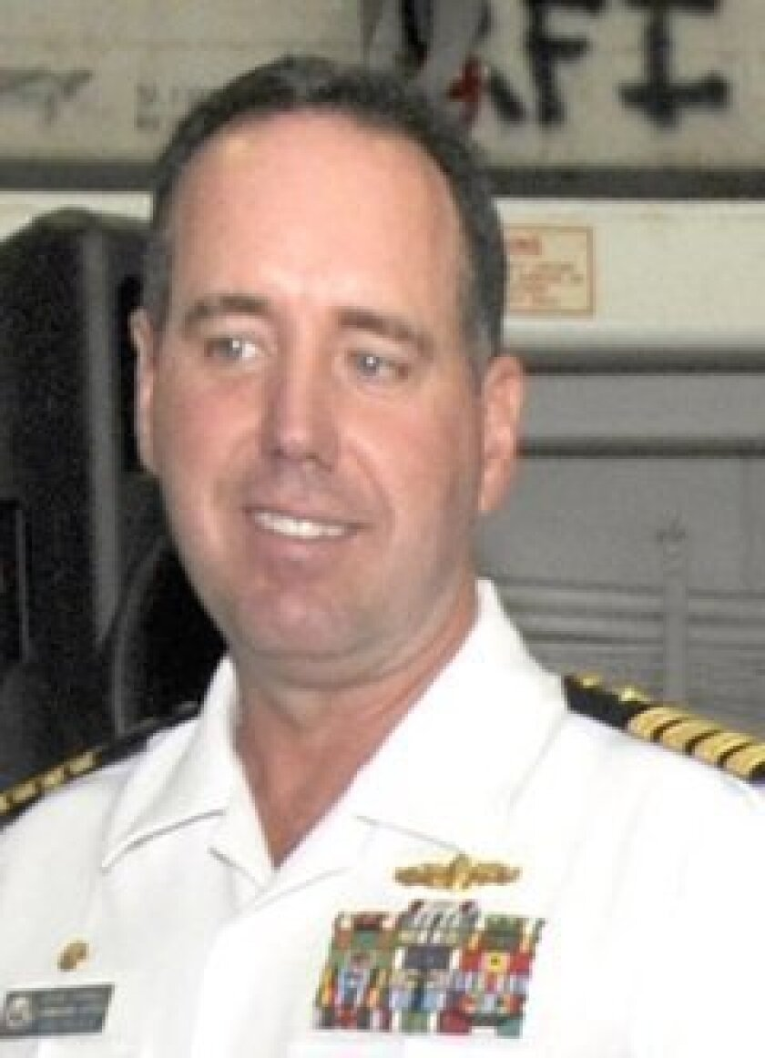 Capt. David Schnell, commanding officer of the Peleliu, was relieved of command Sunday.