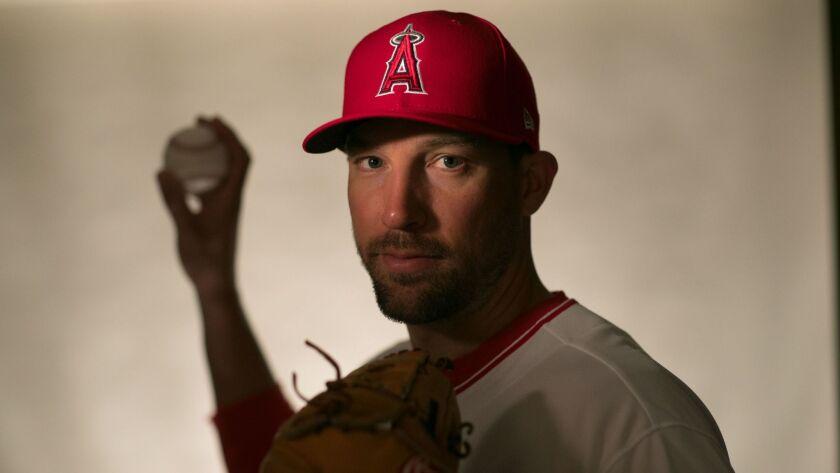 Angels pitcher Jim Johnson.
