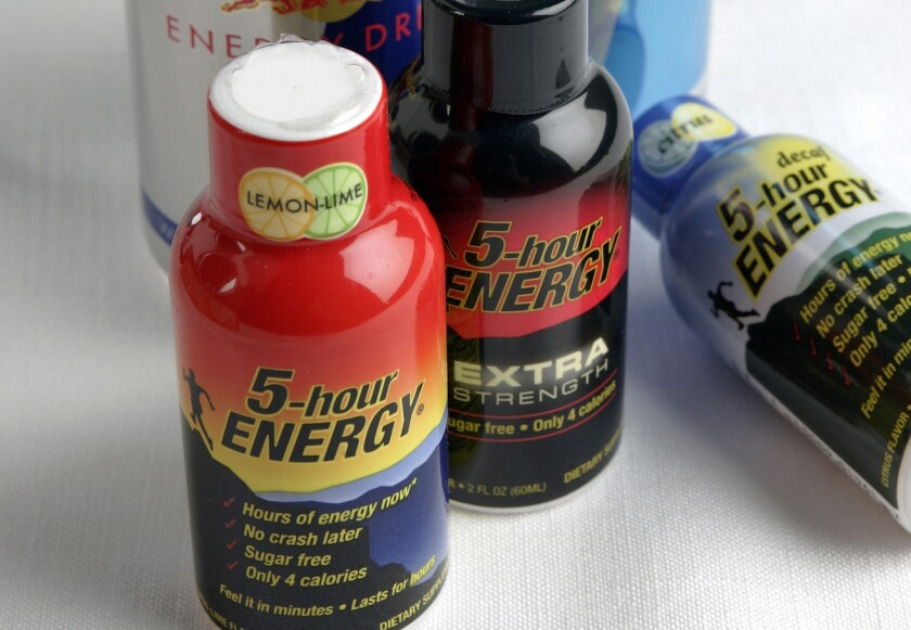 Federal officials have charged 11 people with conspiracy to manufacture and distribute counterfeit 5-Hour Energy drinks.