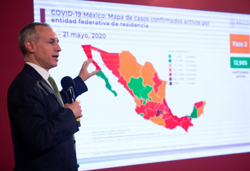México suma 6.510 muertos con COVID-19 y se acerca a los 60.000 contagios