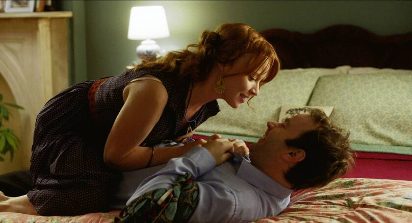 "Mike Birbiglia and Lauren Ambrose star in ""Sleepwalk With Me."""