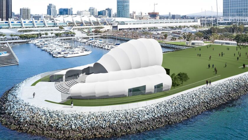 San Diego Symphony's proposed Bayside Performance Park
