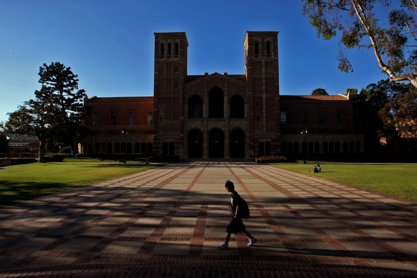 UCLA: Time to make it free again?