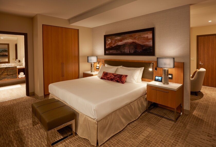 The brand-new Sycuan Casino Resort, which already earned the coveted AAA Four Diamond Award, has 57 suites ranging from 600-plus square feet to 1,888.