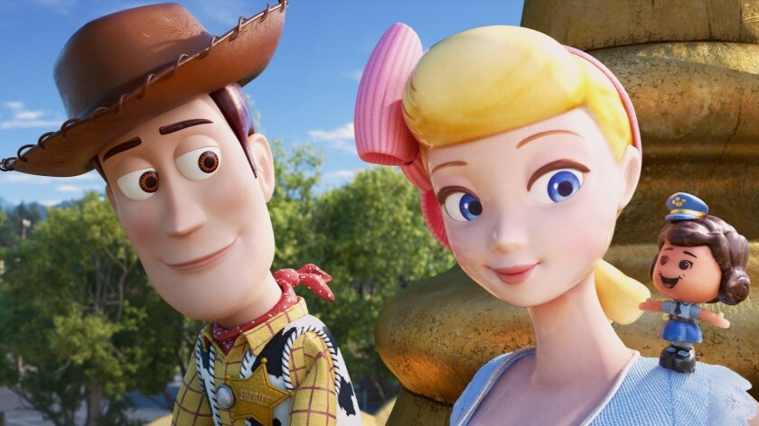 ***SUMMER SNEAKS 2019--GIGGLE MCDIMPLES -- In Disney?Pixar?s ?Toy Story 4,? Bo Peep introduces Woody