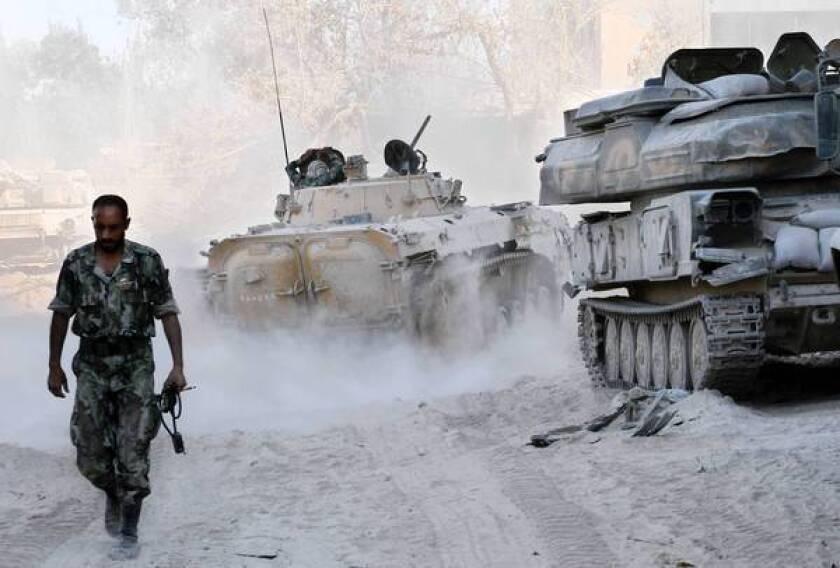 U.S. prepares for possible retaliatory strike against Syria