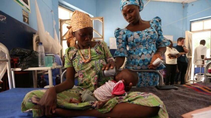 Kawu Ashe es sólo una de las 120.000 personas que sufren de inanición en el noreste de Nigeria, una región que ha sido devastada por la insurgencia de Boko Haram.