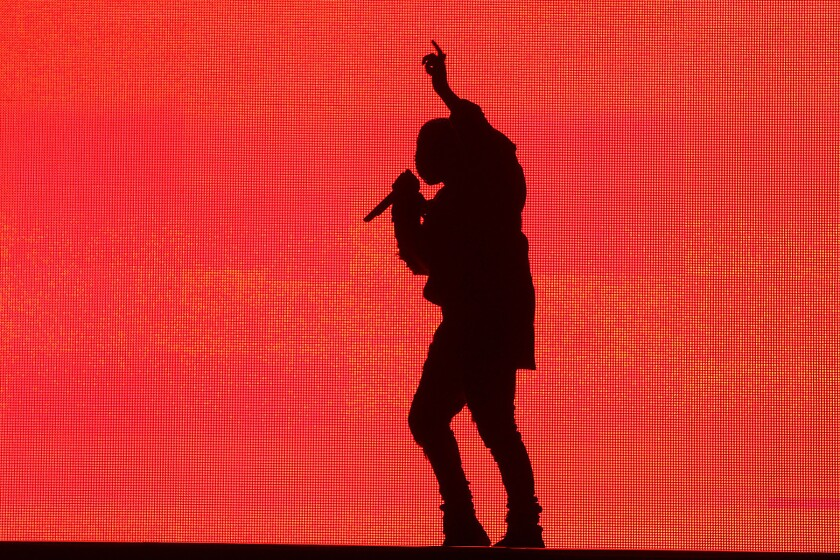 Kanye West at Made in America L.A.