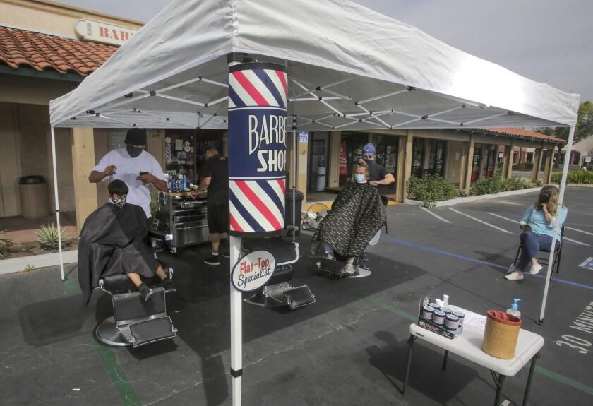 JR's Barbershop in San Marcos
