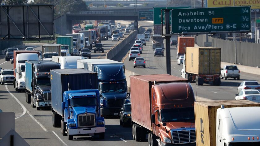 For two decades, Los Angeles County transportation officials have pushed for changes to the 710 Freeway, saying its design and heavy freight traffic have contributed to some of the dirtiest air and most dangerous driving conditions in California.