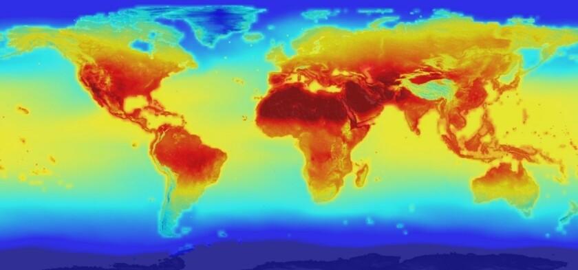 Global climate change risk
