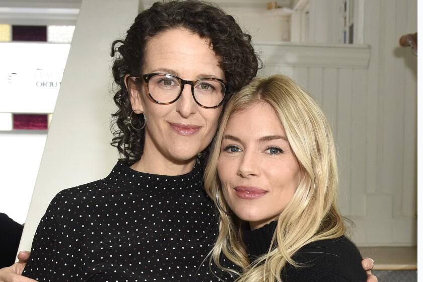 """Writer-director Tara Miele with """"Wander Darkly"""" star Sienna Miller."""