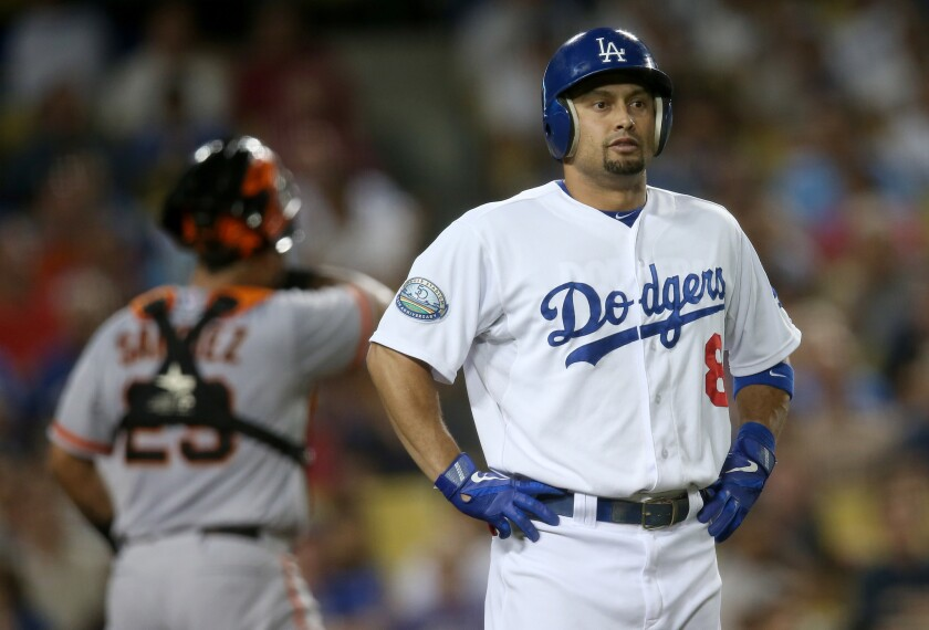 Shane Victorino and Dodgers appear headed for separate ways