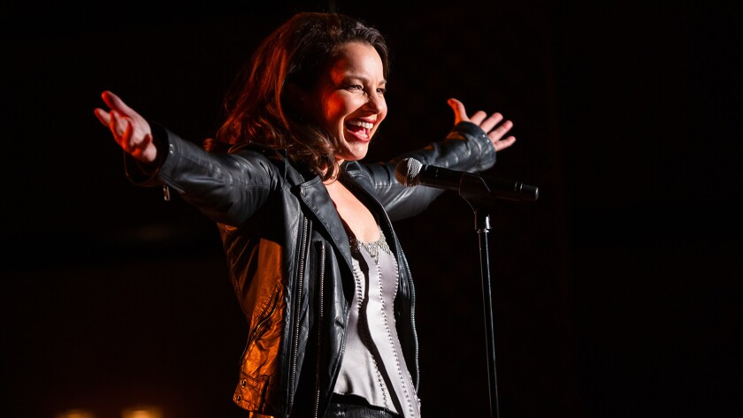 """Fran Drescher in """"Funny Women of a Certain Age"""" on Showtime."""