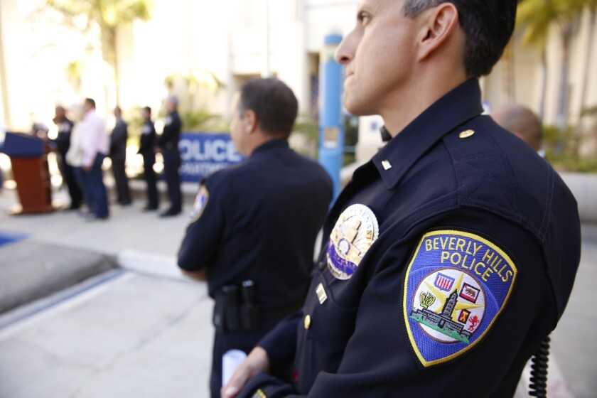 Beverly Hills police are investigating 12 sexual assault allegations made against members of the entertainment industry, officials said.