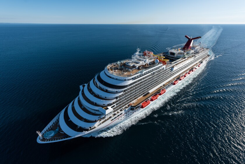 Carnival Vista plans to resume cruises from Galveston, Texas, in August.