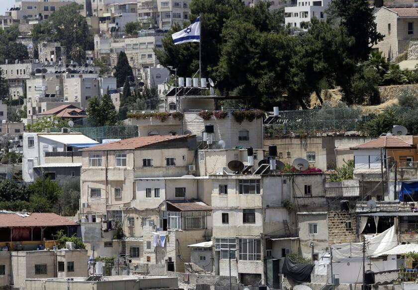 The East Jerusalem neighborhood of Silwan.