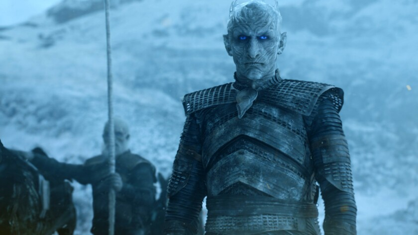 """""""Game of Thrones"""" holds the series record for most awards in a year, a dozen, which it set in 2015 and matched the following year, and with a total of 38 Emmys stands as the most-honored program ever."""