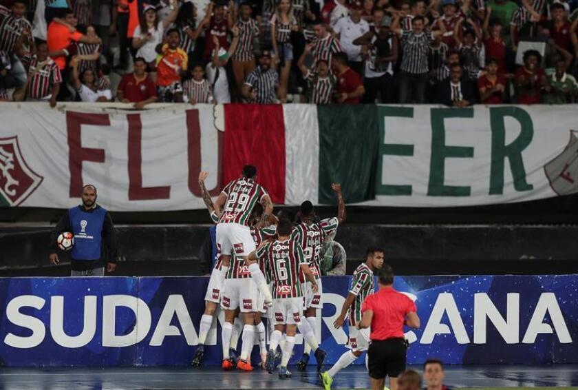 En la imagen, jugadores de Fluminense. EFE/Archivo