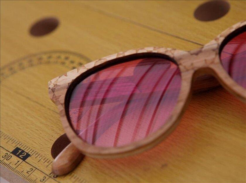 508167a083 Fotografía de algunos de los modelos de la marca Sierra para gafas en madera  ideadas por