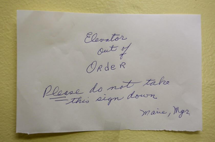 Photo Gallery: Montrose senior home elevators not working