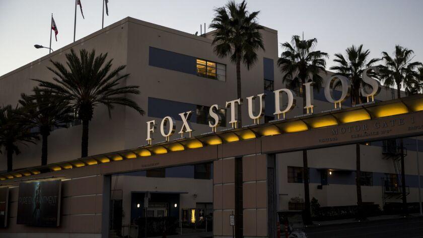 20th Century Fox Studios in Los Angeles last year.