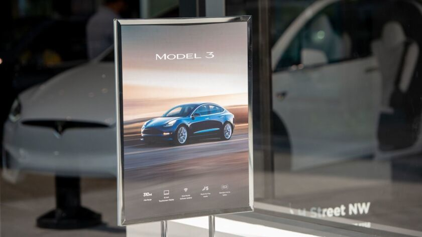 Tesla's website says Model 3s will be delivered in two to four weeks, but CEO Elon Musk said it could take much longer.