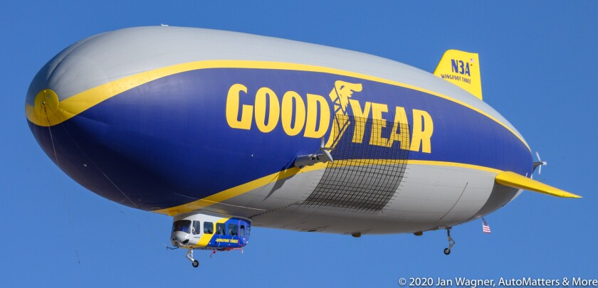 Goodyear Blimp Wingfoot Three