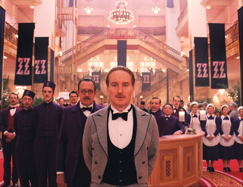 "Owen Wilson as M. Chuck in ""The Grand Budapest Hotel."" The Costume Designers Guild honored Colleen Atwood for her work in the film."