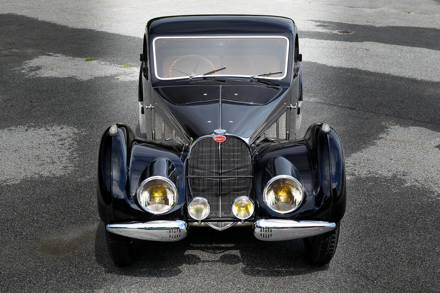 This 1937 Bugatti Type 57SC Atalante has an inline eight-cylinder engine making around 200 horsepower. Its pre-sale estimate is in the neighborhood of between $9 million and $11 million.
