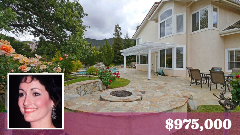 Daytime soap actress Robin Strasser has bought a home in Newbury Park for $975,000.