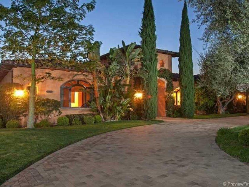 Darren Sproles new home in Heritage Ranch