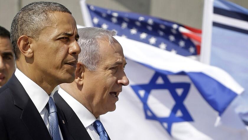 President Obama, Benjamin Netanyahu