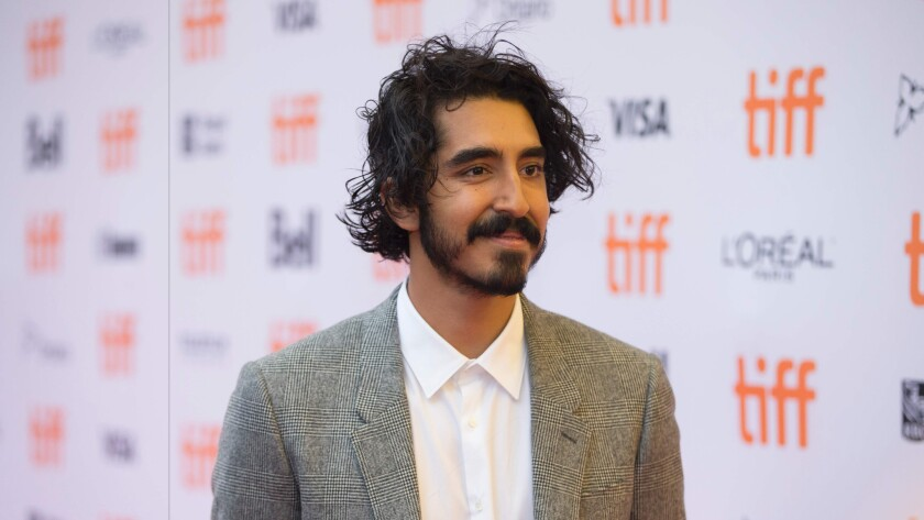 Dev Patel at the Toronto International Film Festival