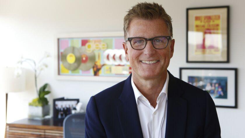 BURBANK, CA - AUGUST 23, 2016: Portrait of Kevin Reilly, President of TNT & TBS in Burbank, CA Augu