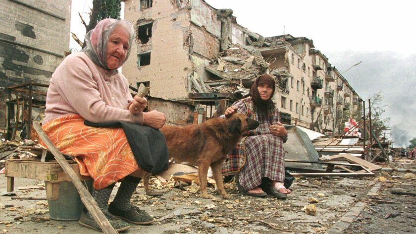 """""""Chechen war winds down"""""""