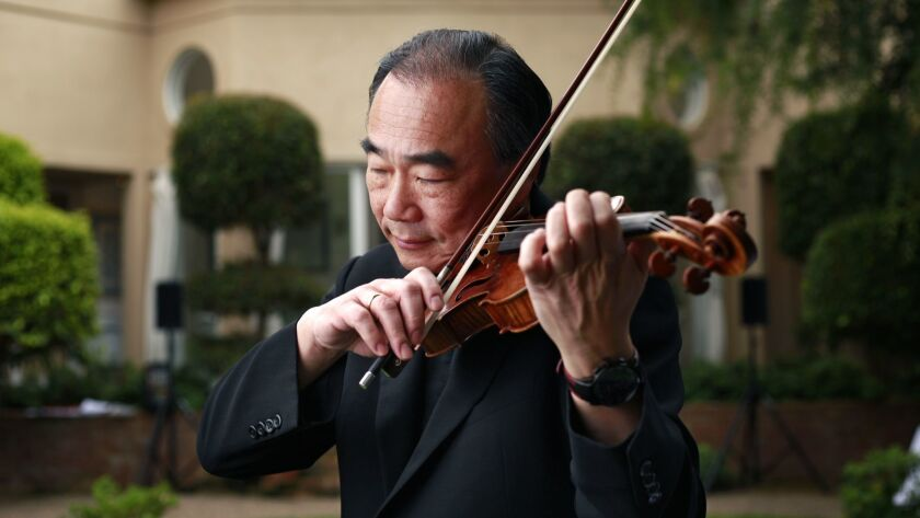 """Music director Cho-Liang """"Jimmy"""" Lin is overseeing his last SummerFest."""