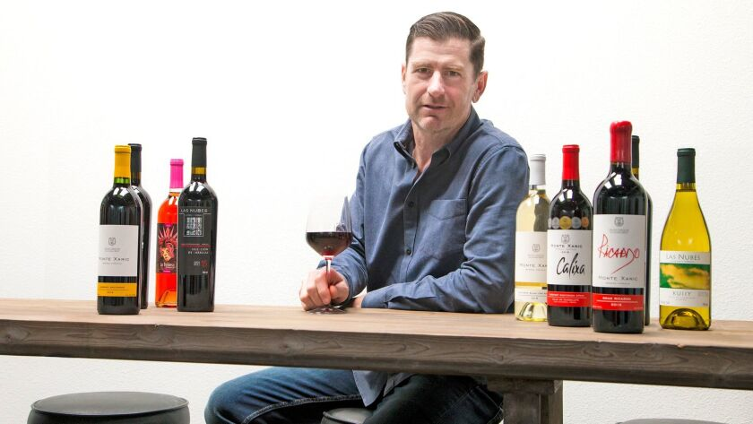 Jim Riley, CEO and founder of Baja United Group, imports Baja wines to Southern California restauran