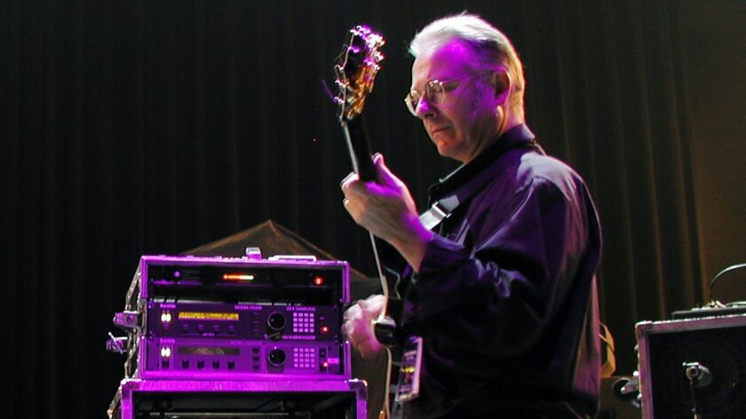Robert Fripp has been the sole member of King Crimson to perform in every edition of the band since