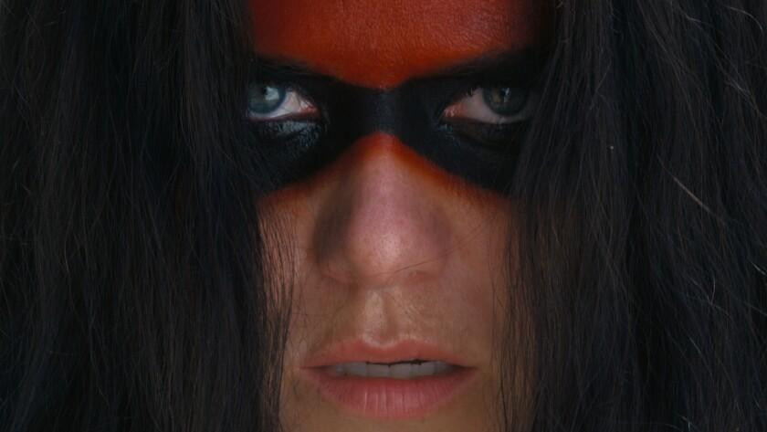 "Kaniehtiio Horn in the movie ""Mohawk."""