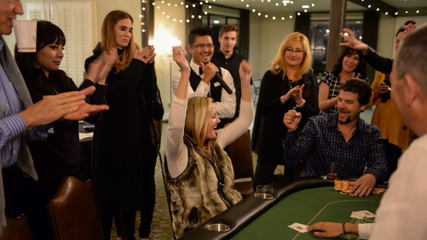 Casino Night will feature a variety of games, including Blackjack, Craps, Roulette and Poker.