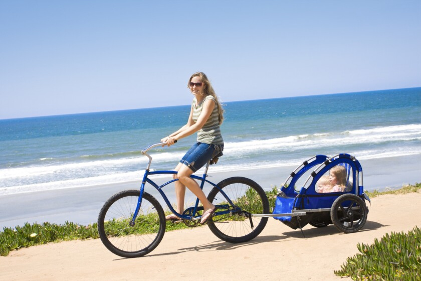 On Mother's Day, why not go for a spin around San Diego.