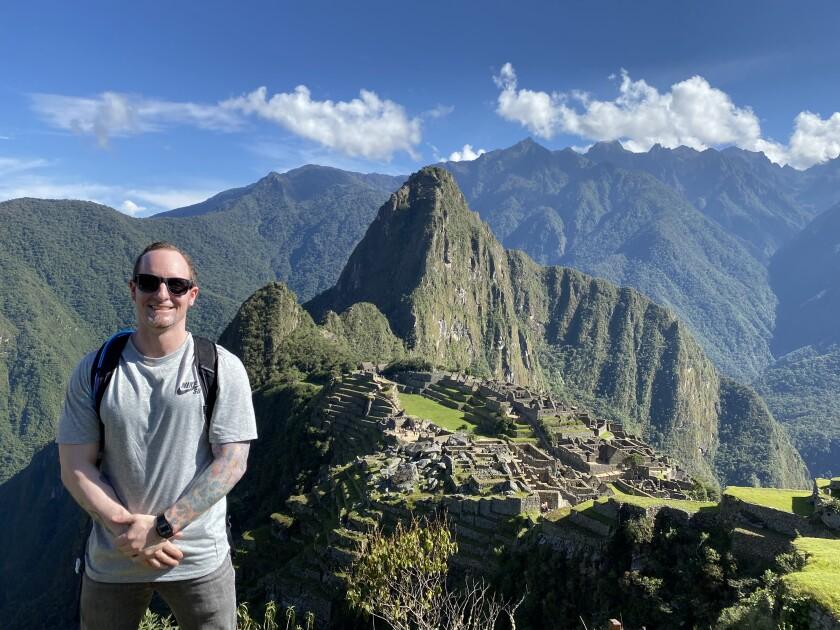 Shawn Hill in Peru