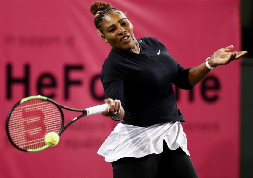La tenista estadounidense Serena Williams. EFE